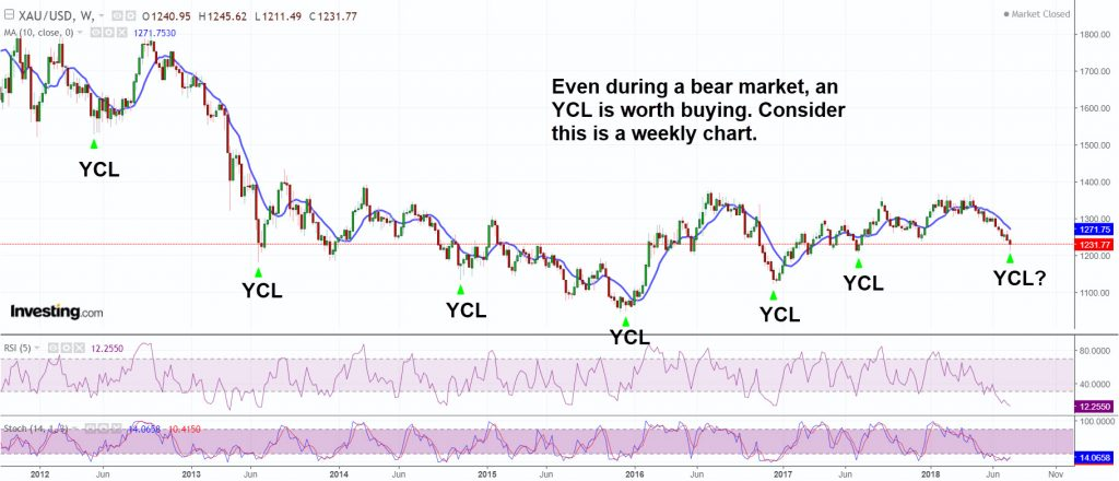 Even during a bear market an YCL is worth buying